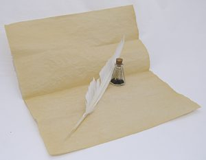 Quill Pen and Ink Kit - Create your own Document kit
