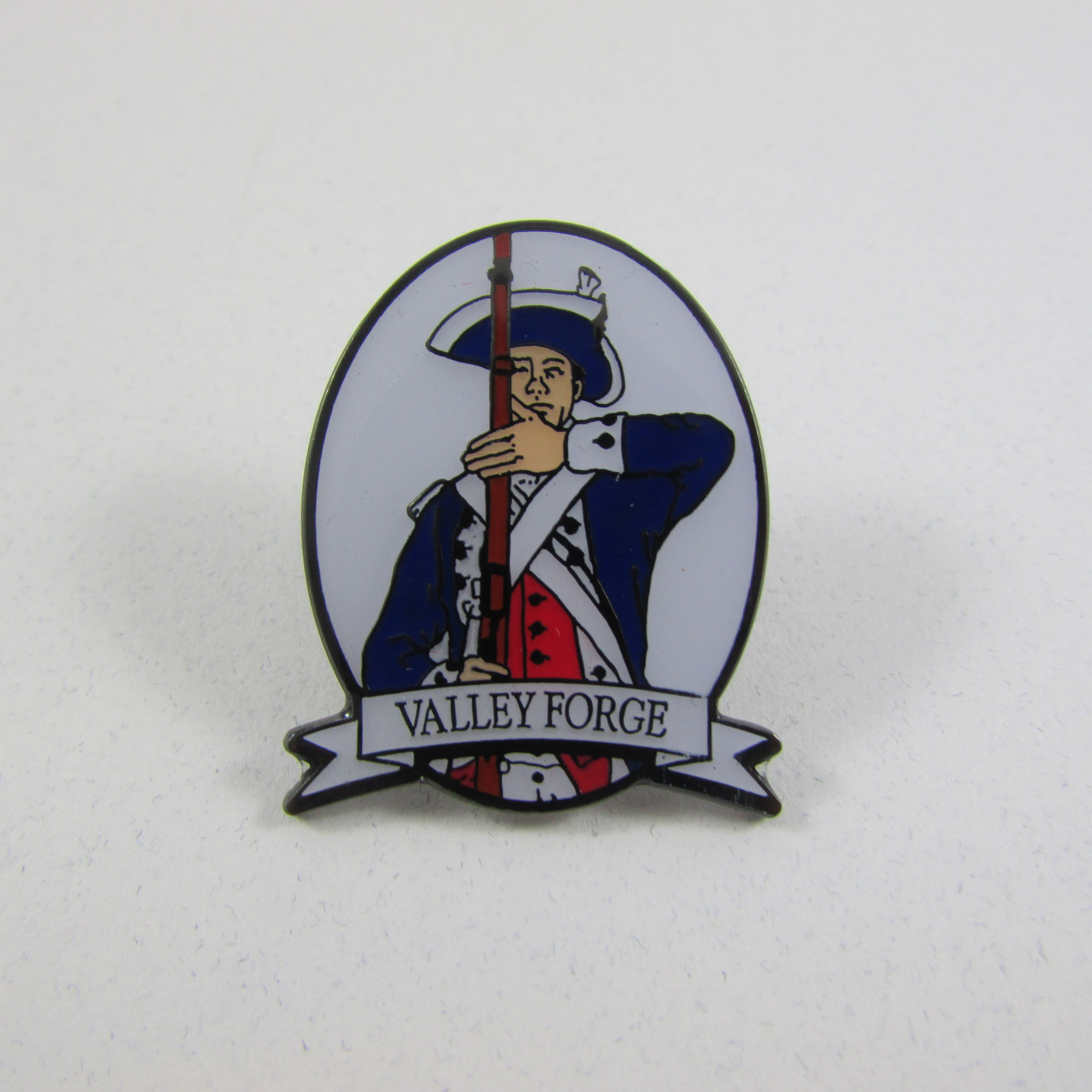 Pin: Soldier with Musket
