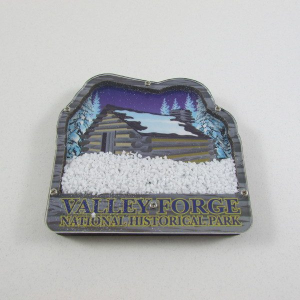 magnet valley forge hut snowflakes the encampment store at valley